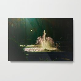 The Fountain of Apollo (soft) Metal Print