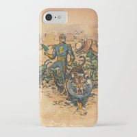 calvin iPhone & iPod Cases featuring Calvin: The Spiffy Spaceman by Captain_RibMan