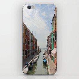 Burano in Venezia iPhone Skin