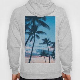 Sunset Palms Tree Hoody