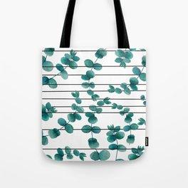 eucalypatus pattern Tote Bag
