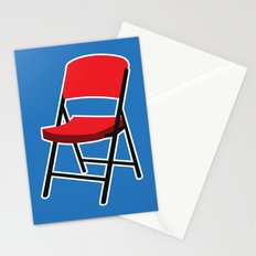 Folding Chair Stationery Cards