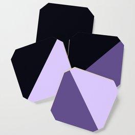 Trinity Color Block Ultra Violet Coaster
