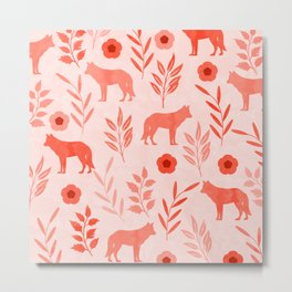 Forest Animal and Nature II Metal Print