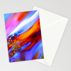 Fluid movement Stationery Cards