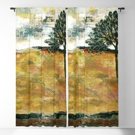 I Will Remember, Rustic Landscape Blackout Curtain