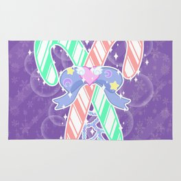 Candy Canes: Fairy Kei Version Rug