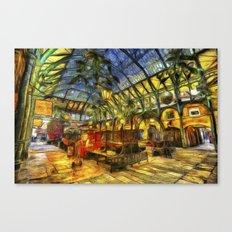 Covent Garden Van Gogh Canvas Print