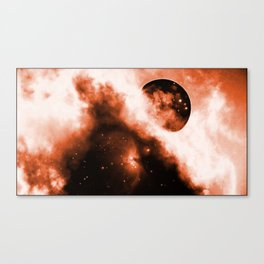 Melded Moon Canvas Print