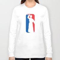 league Long Sleeve T-shirts featuring Psycho League by dutyfreak
