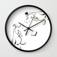 food Wall Clocks featuring Food! by What The Duck