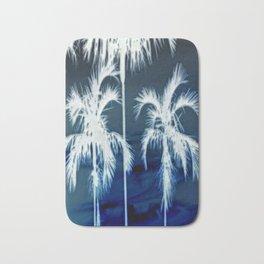White Palms Over Lauderdale Bath Mat