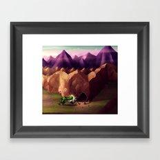 BattleToads Framed Art Print