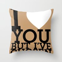 disco Throw Pillows featuring Disco by neil parrish