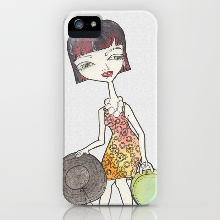 She's Leaving iPhone Case