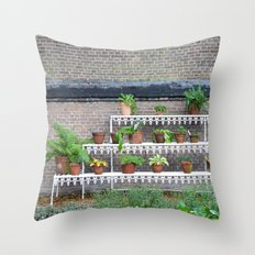 Pots and plants Throw Pillow