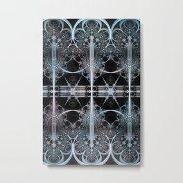 Arctic Blades Metal Print