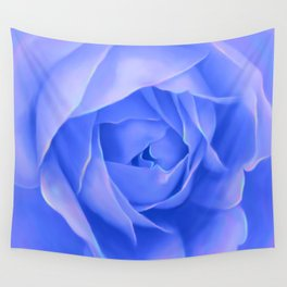 PURPLE ROSE Wall Tapestry