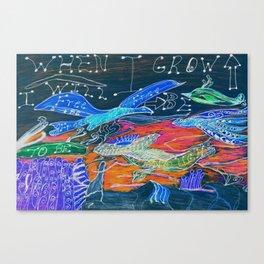 Free To Be Enough Canvas Print