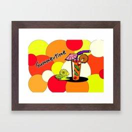 Summertime 1 Framed Art Print