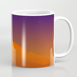 Slumbering Hills, Southwestern Landscape Art Coffee Mug