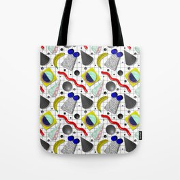 Memphis Milano X Harlem Shake Style Tote Bag