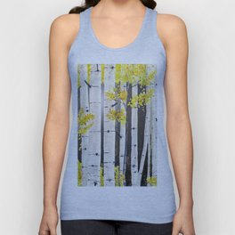 Birch Tree Unisex Tank Top