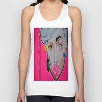 artrave Tank Tops featuring artRAVE by Sabino Martinez