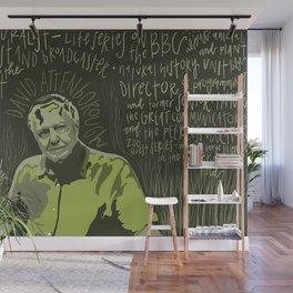 David Attenborough. Wall Mural