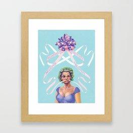 Amy Sedaris Framed Art Print