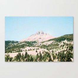 Happy Mountain #society6 #decor #buyart Canvas Print