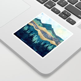 Blue Forest Sticker
