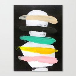 Untitled (Finger Paint 1) Canvas Print