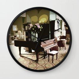 The piano ver 2. Wall Clock