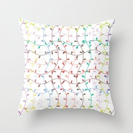 Spring Sprouts Throw Pillow