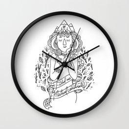 Coordinates Wall Clock