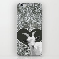 totes iPhone & iPod Skins featuring Totes Ma Goats - Grey by BACK to THE ROOTS