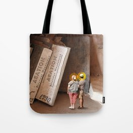 Remember History Tote Bag