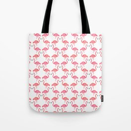 Pink Flamingos on Parade // Collaboration with Brianne Burnell Tote Bag