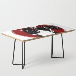 Bulma Briefs Illustration Coffee Table