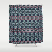 persian Shower Curtains featuring Persian Feel by lalaprints