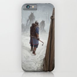 Knock, Knock. iPhone Case
