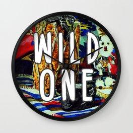 Wild One Wall Clock