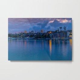 Newport Harbor Dawn Metal Print