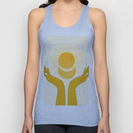 Holding the Light Unisex Tank Top