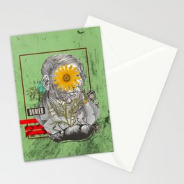 buried Stationery Cards