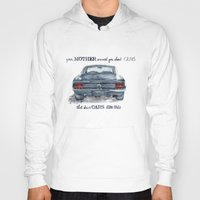 mustang Hoodies featuring Mustang by dareba