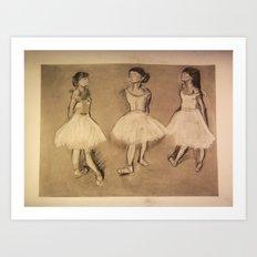 Degas Master Copy Art Print