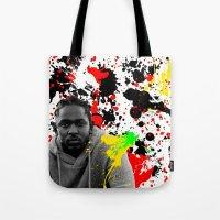 literature Tote Bags featuring Literature by Kerosene Bill