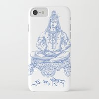 shiva iPhone & iPod Cases featuring SHIVA by Only Vector Store - Allan Rodrigo